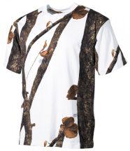 MFH 00105E US T-shirt póló - Vadászfehér
