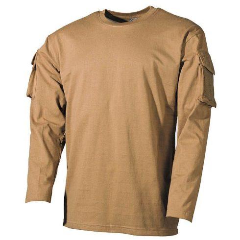 MFH 00123 Hosszú ujjú Taktikai Póló - Több színben!