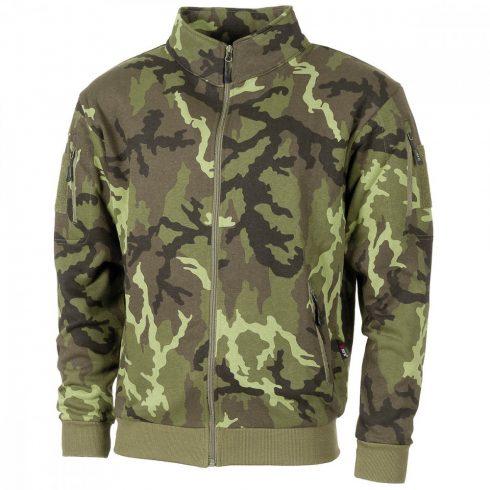 """Sweatjacket, """"Tactical"""", CZ camo - dzseki, polár"""