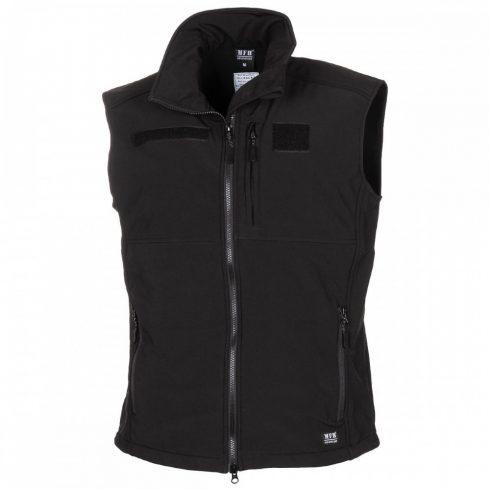"MFH Soft Shell Vest, ""Allround"", black - mellény"