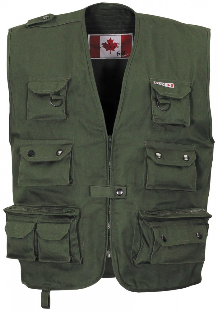 a62a25955c FOX Outdoor Taktikai Mellény - zöld