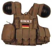 MFH 04573 Combat SWAT Molle állítható méretű Taktikai mellény - Több színben!