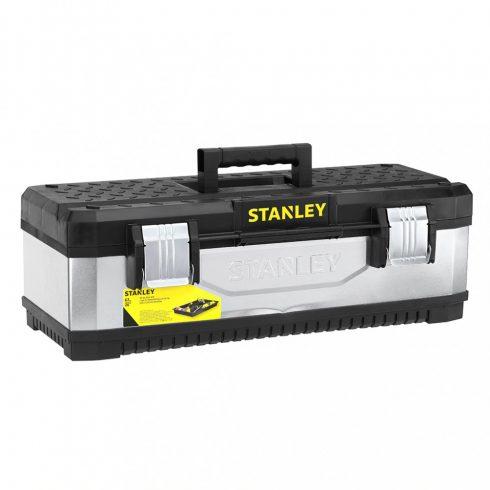 """Stanley 23"""" galvanizált fém/műanyag szerszámláda"""