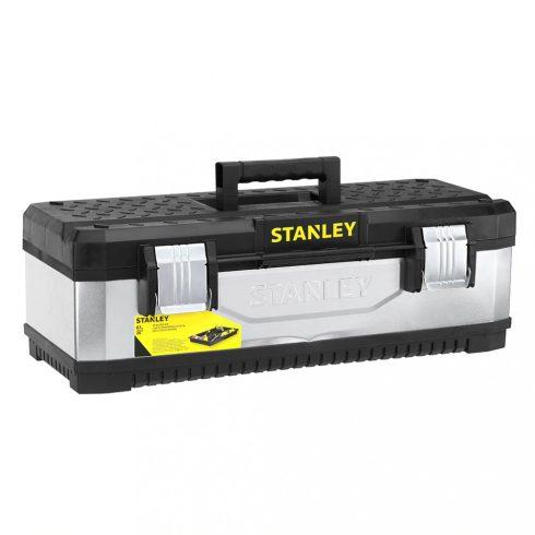 """Stanley 26"""" galvanizált fém/műanyag szerszámláda"""