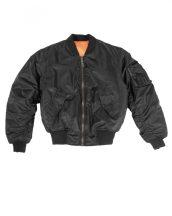TEESAR 10401002 US BLACK MA1® FLIGHT Bomber dzseki