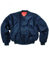 TEESAR 10401003 US DARK BLUE MA1® FLIGHT Bomber dzseki
