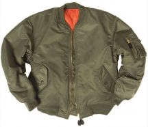 MIL-TEC 10402001 US BASIC MA1® FLIGHT Bomber Dzseki - Olivazöld