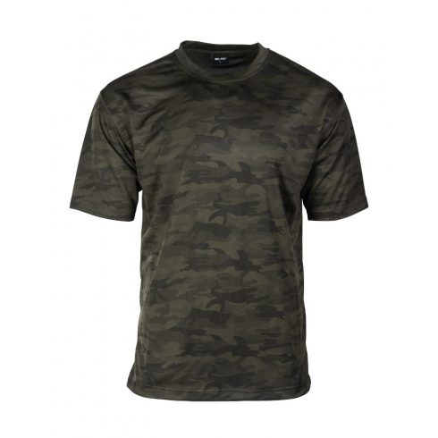 MIL-TEC Hálós szerkezetű taktikai póló