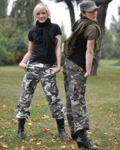 MIL-TEC 11141022 US URBAN WOMEN BDU R/S C.PW. FIELD PANTS taktikai nadrág (női fazon)