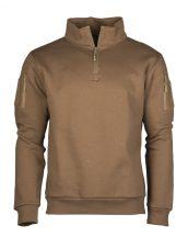 MIL-TEC Taktikai cipzáras pulóver - Több színben!