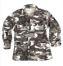 MIL-TEC 11824022 US URBAN BDU STYLE R/S C.PW.FIELD JACKET taktikai zubbony