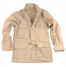 MIL-TEC 11837004 US KHAKI R/S BDU FIELD JACKET taktikai zubbony