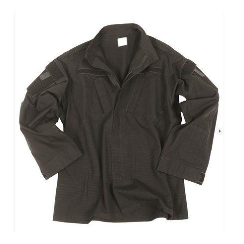 MIL-TEC 11925002 US BLACK R/S ACU FIELD JACKET taktikai zubbony - fekete
