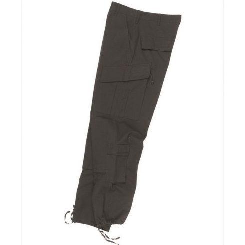 MIL-TEC 11926002 US BLACK R/S ACU FIELD PANTS - taktikai nadrág - fekete