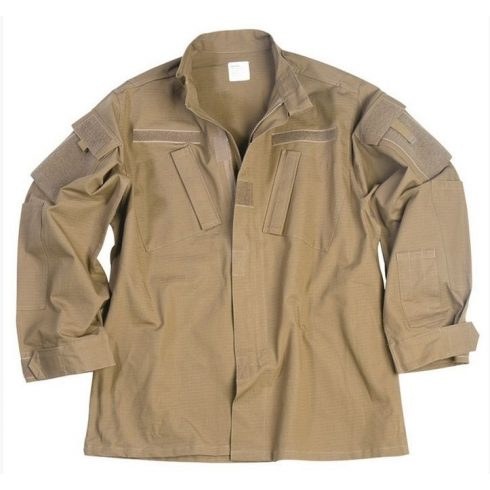 MIL-TEC 11927005 US COYOTE R/S ACU FIELD JACKET taktikai zubbony - coyote