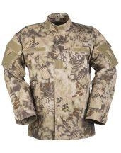 MIL-TEC 11942484 US MANDRA TAN ACU FIELD JACKET R/S taktikai zubbony - mandra tan