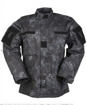 MIL-TEC 11942785 US MANDRA NIGHT ACU FIELD JACKET R/S taktikai zubbony - mandra night