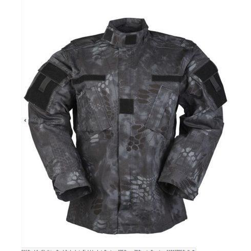 MIL-TEC 11942785 US MANDRA NIGHT ACU FIELD JACKET R/S taktikai zubbony - mandra night