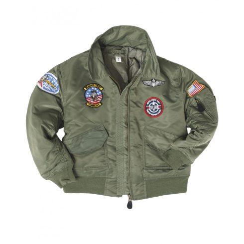 MIL-TEC CWU gyerek pilóta dzseki