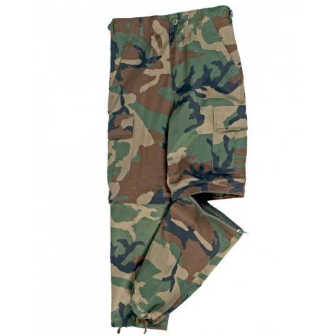 MIL-TEC US BDU lecipzározható gyerek nadrág