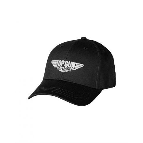 BLACK ′TOP GUN′ BASEBALL CAP sapka