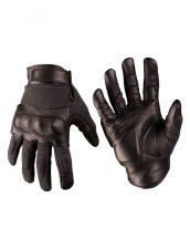 MIL-TEC 12504202 Taktikai bőr / vágásálló kesztyű - Fekete