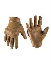 MIL-TEC 12504219 Taktikai bőr / vágásálló kesztyű - Barna