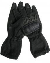 MIL-TEC 12520102 NOMEX ACTION Taktikai bőr hőálló kesztyű - Fekete