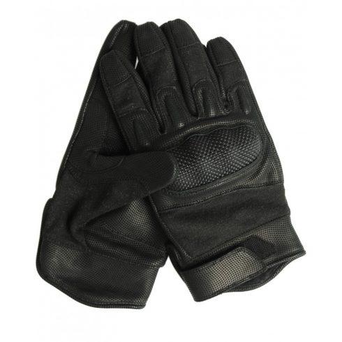 MIL-TEC 12520202 NOMEX ACTION Taktikai bőr hőálló kesztyű - Fekete