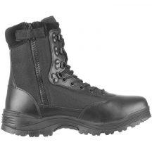 MIL-TEC 12822102 Tactical zip Cipzáras Taktikai Bőrbakancs - Fekete