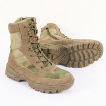 TEESAR 12822159 Tactical zip Cipzáras Taktikai Bőrbakancs - A-TACS/Terepszínű