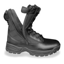 MIL-TEC 12822202 Tactical two-zip Cipzáras Taktikai Bőrbakancs - Fekete
