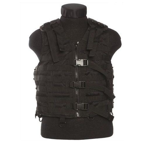 MIL-TEC 13461002 Taktikai Molle mellény - Fekete