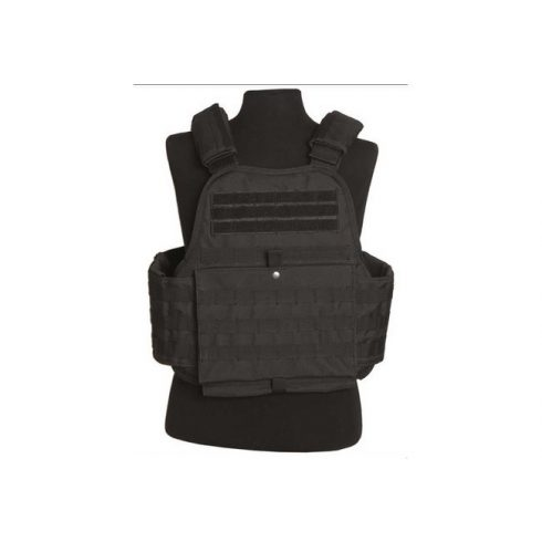 MIL-TEC Plate Carrier Vest fekete