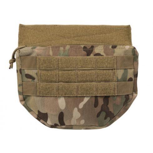 MIL-TEC drop down pouch multitarn