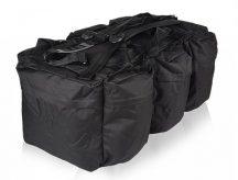 MIL-TEC 13846002 COMBAT DUFFLE BAG TAGP 98 LTR Taktikai Utazótáska - Black/Fekete