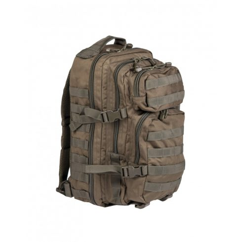 MIL-TEC 14002001 OD BACKPACK US ASSAULT SMALL Taktikai Hátizsák - Olivazöld