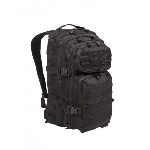 MIL-TEC 14002002 BACKPACK US ASSAULT SMALL Taktikai Hátizsák - Fekete