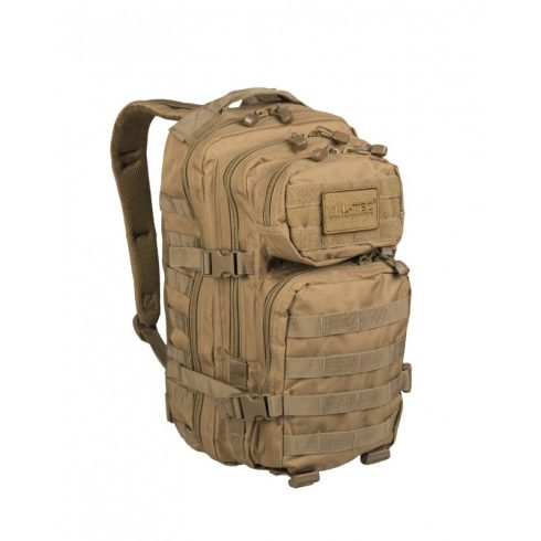 MIL-TEC 14002005 BACKPACK US ASSAULT SMALL Taktikai Hátizsák - Coyote/Barna