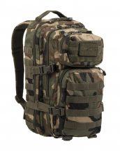 MIL-TEC 14002020 BACKPACK US ASSAULT SMALL Taktikai Hátizsák - Woodland/Terepszínű