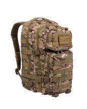 MIL-TEC 14002049 BACKPACK US ASSAULT SMALL Taktikai Hátizsák - Multitarn/Terepszínű