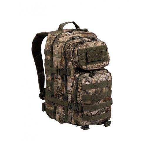 MIL-TEC 14002084 BACKPACK US ASSAULT SMALL Taktikai Hátizsák - Mandra Wood/Kígyóbőr-Terepmintás