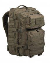 MIL-TEC 14002201 BACKPACK US ASSAULT LARGE Taktikai Hátizsák - Olive/Olivazöld