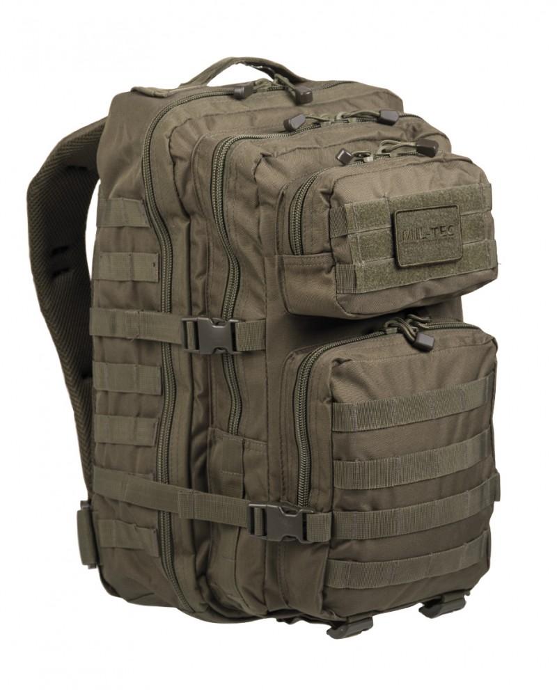 2012ac1e579c MIL-TEC 14002201 BACKPACK US ASSAULT LARGE Taktikai Hátizsák -  Olive/Olivazöld
