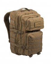 MIL-TEC 14002205 BACKPACK US ASSAULT LARGE Taktikai Hátizsák - Coyote/Barna