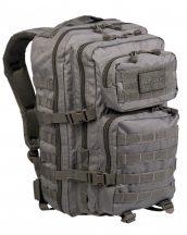 MIL-TEC 14002206 BACKPACK US ASSAULT LARGE Taktikai Hátizsák - Foliage/Szürke