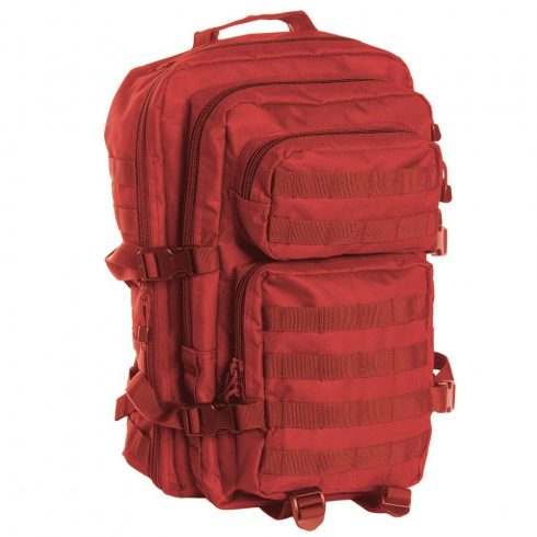 MIL-TEC 14002210 SIGNAL BACKPACK US ASSAULT LARGE Taktikai Hátizsák - Red/Piros