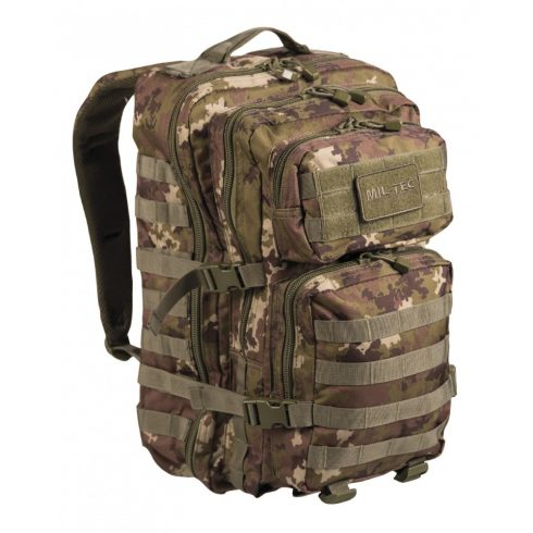 MIL-TEC 14002242 BACKPACK US ASSAULT LARGE Taktikai Hátizsák - Vegetato/Terepszínű