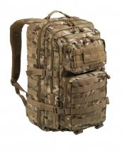MIL-TEC 14002249 BACKPACK US ASSAULT LARGE Taktikai Hátizsák - Multitarn/Terepszínű