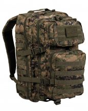 MIL-TEC 14002271 BACKPACK US ASSAULT LARGE Taktikai Hátizsák - Marpat/Terepszínű